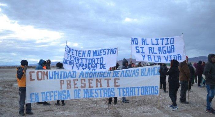 Jujuy: Originarios resisten al avance de las mineras