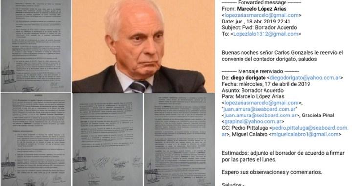 López Arias negó que se haya armado un acuerdo para beneficiar a Seaboard Corporation