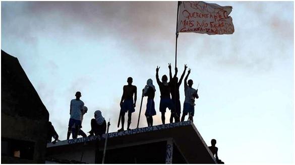 Crimen organizado, motín y muertes en Brasil
