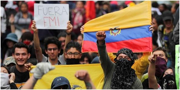 Crisis, paros y Estado de Excepción en el Ecuador de Lenin Moreno