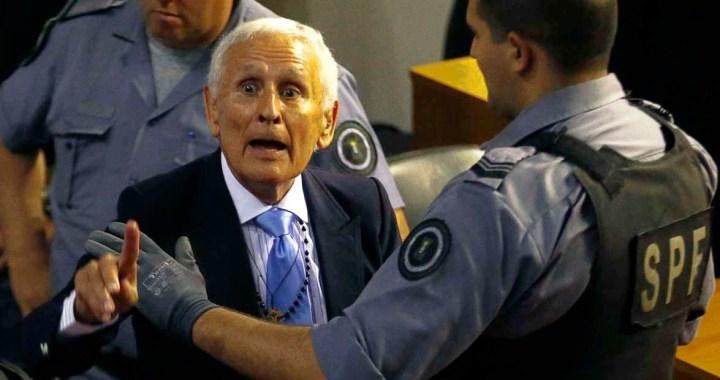 Fiscalía pidió rechazar el pedido de arresto domiciliario al represor Miguel Etchecolatz