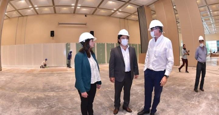 Aseguran que si hace falta, se usará el Centro de Convenciones y la escuela Ara General Belgrano