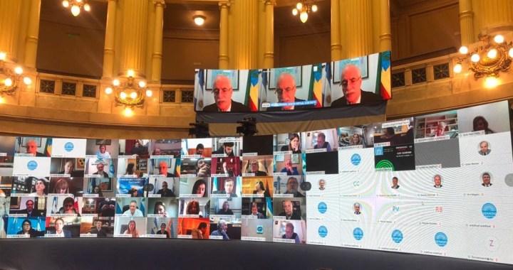 Senado y Diputados realizarán hoy las primeras sesiones virtuales de su historia