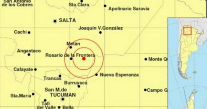 Un sismo de 5,2 despertó a Salta este miércoles: epicentro en Cafayate