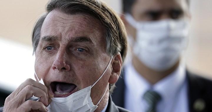 El presidente de Brasil, Jair Bolsonaro, tiene coronavirus