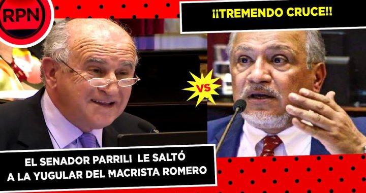Parrilli cruzó a Romero: «No puede utilizar sus fueros para evitar la acción de la Justicia»