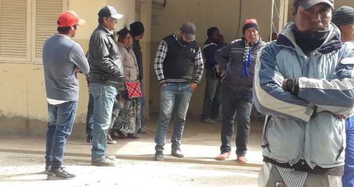 Santa Victoria Este: Originarios pedían agua potable y alimentos, los reprimieron