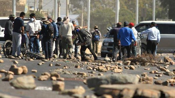 Iniciaron los bloqueos y las huelgas generales en Bolivia