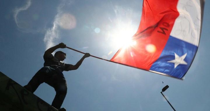 Histórico: Inicia en Chile campaña del plebiscito por una nueva Constitución