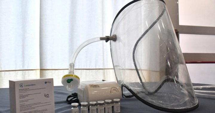 Salta aplica tratamiento de ibuprofeno inhalado a pacientes con Covid-19