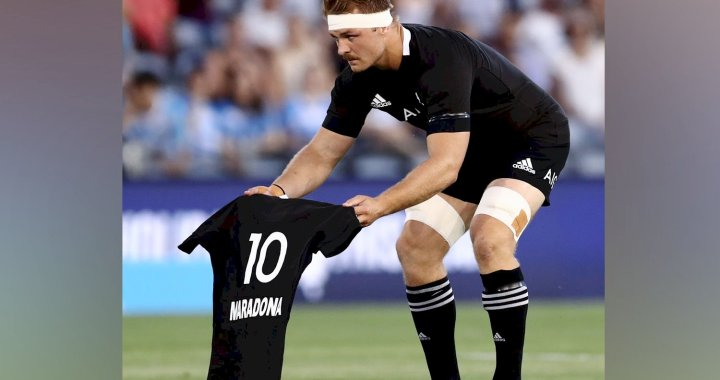 Críticas a la frialdad de Los Pumas por la muerte de Maradona: apenas una cinta aisladora