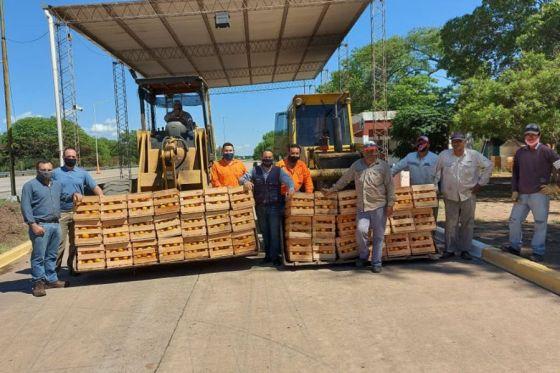 Decomisan 9 mil kilos de naranjas que se iban a vender en el CoFrutHos