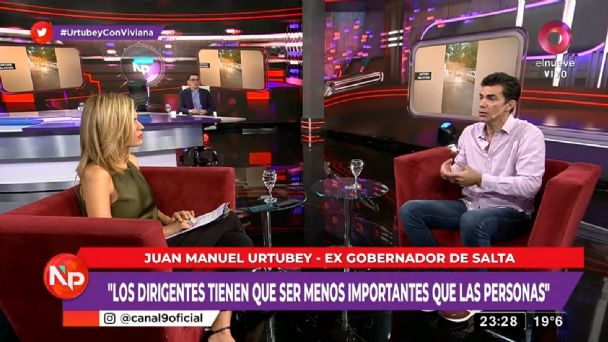 Juan Manuel Urtubey: «Estuve enfermo de poder»