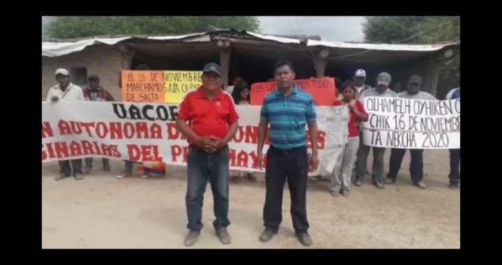 Comunidades indígenas marchan kilómetros para exigir mejores condiciones de vida