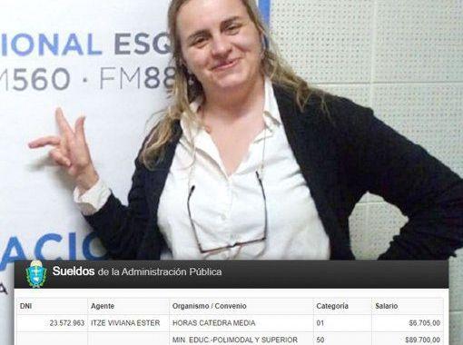 Insólito: cobra $170 mil de Chubut pero vive en Salta