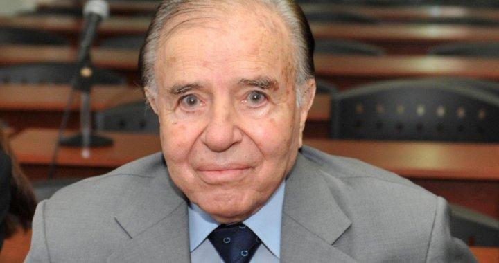 Sáenz, Romero, Isa y Nanni despidieron al expresidente Carlos Menem