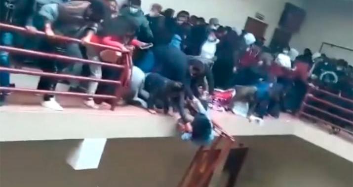 Mueren 7 estudiantes en Bolivia tras caer del cuarto piso de su Universidad