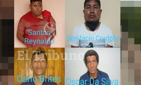 Captura Internacional para los presos prófugos de Salvador Mazza