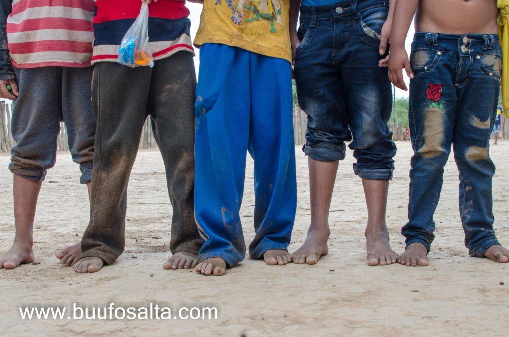 Chaco salteño pobreza niños