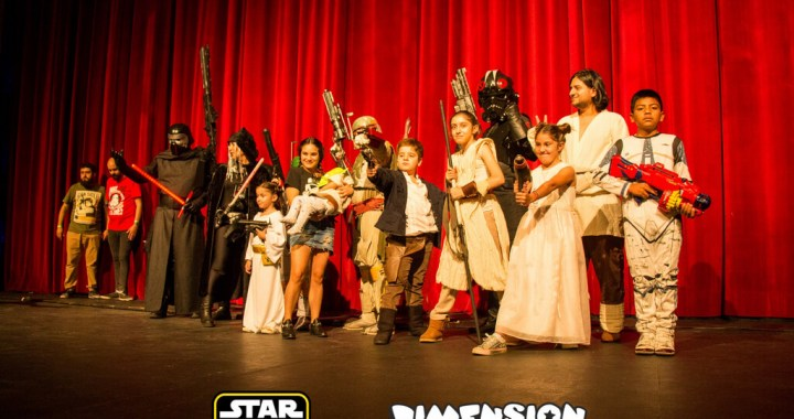 ¡Que la fuerza acompañe! Stars Wars llega a la Usina Cultural