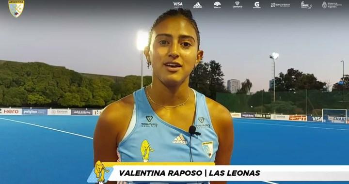 La salteña Valentina Raposo participará en los Juegos Olímpicos de Tokio