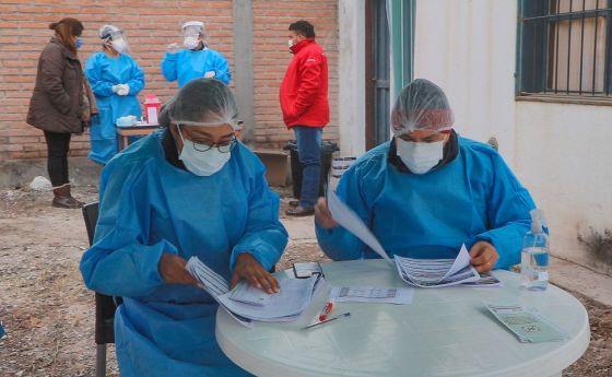 Salud realizará hisopados Covid en barrios de la zona Oeste de Capital