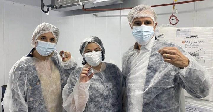Argentina fabricará 3 millones de dosis de la vacuna Sputnik V en agosto
