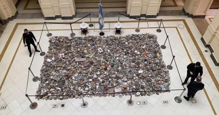 El Gobierno construye un espacio de memoria en homenaje a las víctimas del Covid-19