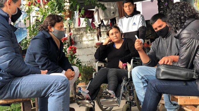 Nación confirmó la recompensa para Rodolfo Gallo, quien halló los restos de Gala Cancinos