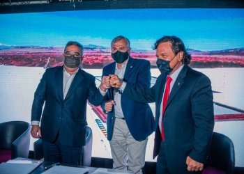 Primero lo primero: Sáenz, Morales y Jalil conformaron la «Región Minera del Litio»