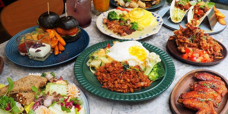 <台中泰式> N.N. Thai Thai泰式創意料理,東海商圈IG打卡潮店,人氣餐點打拋豬、綠咖哩雞腿飯好吃又上相!(東海美食/東海商圈美食/試吃)