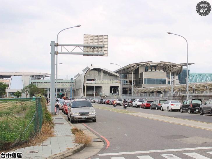 20190512161431 70 - 這個捷運站出入口不一樣!台中綠線捷運站出入口成電聯車廂模樣,好有趣!