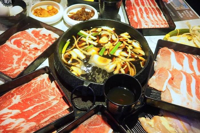 <台中火鍋> 壽喜燒一丁,台北壽喜燒吃到飽進駐中科商圈,假日好多客人攜家帶眷大口吃肉肉!