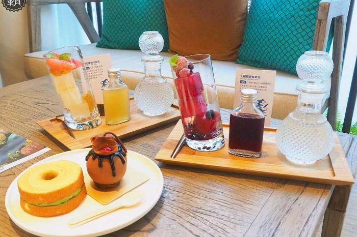 <台中咖啡館> kafeD德勒斯登河岸咖啡館,隱身在公益路商圈的IG美拍森林風咖啡館!
