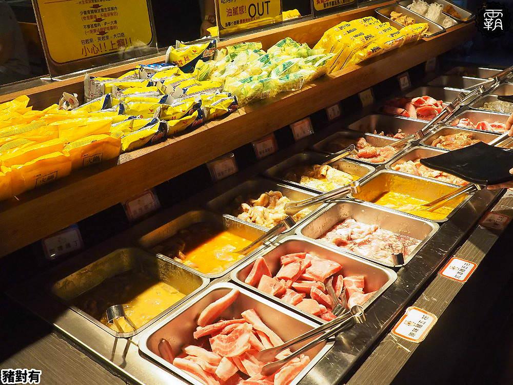<台中吃到飽> 豬對有韓式烤肉吃到飽,豬五花肉片口味多,韓式小菜及熟食任你拿,CP值高適合肉食控聚餐!