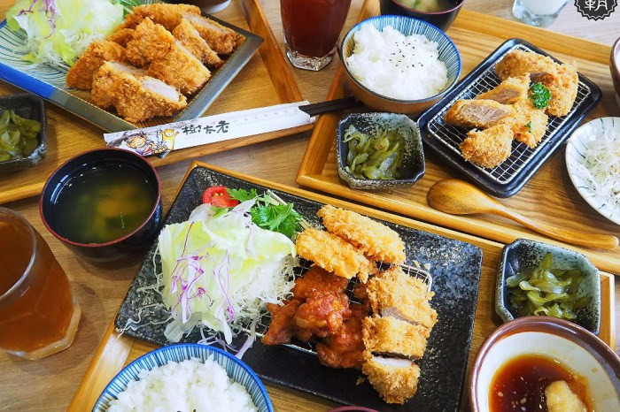<台中日式> 樹太老日本定食,東山路美味日式炸豬排,北屯大坑吃日式定食的好去處!