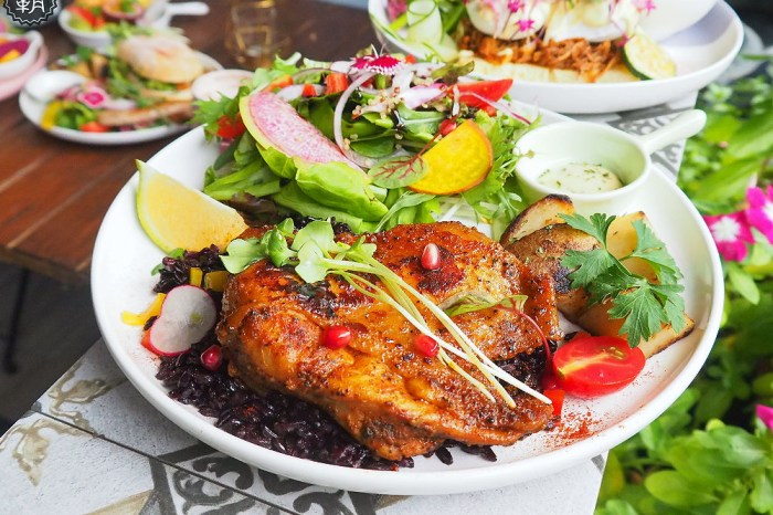 <台中早午餐> the.OZ早午餐,人氣澳式早午餐近審計新村,美味餐點搭有機生菜,配色鮮豔好吃也好拍!