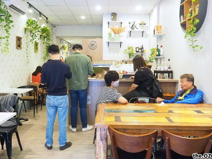 20201028195915 94 - 人氣澳式早午餐,the.OZ早午餐有機生菜配主菜,餐點美味配色鮮明真好拍!