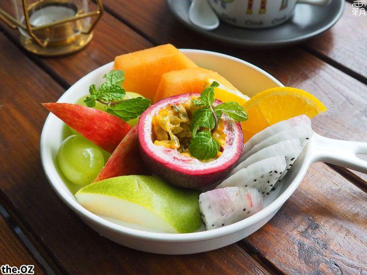 20201028214858 24 - 人氣澳式早午餐,the.OZ早午餐有機生菜配主菜,餐點美味配色鮮明真好拍!