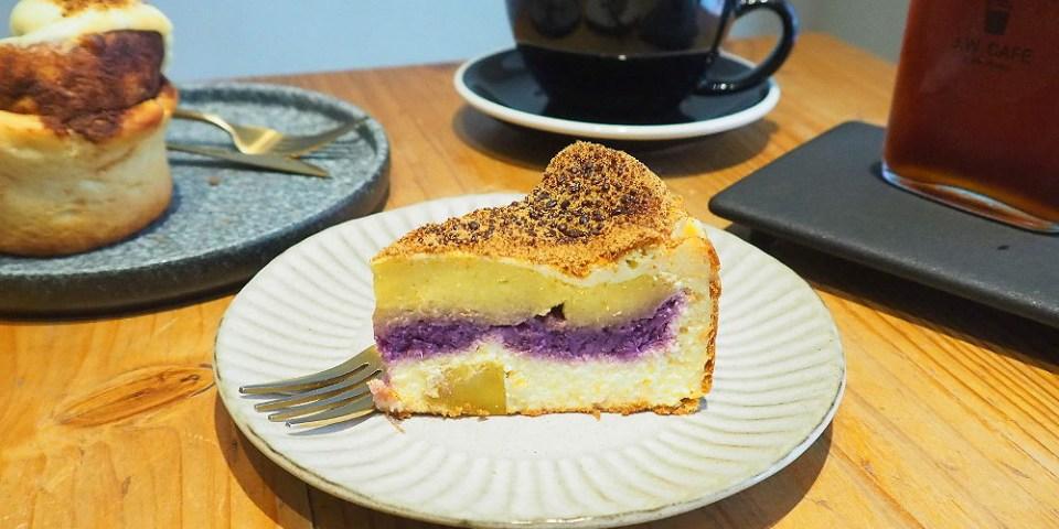 <台中咖啡> J.W. Cafe鄰近捷運南屯站,質感咖啡配手工蛋糕甜點,主打飲品外帶價位更優惠!