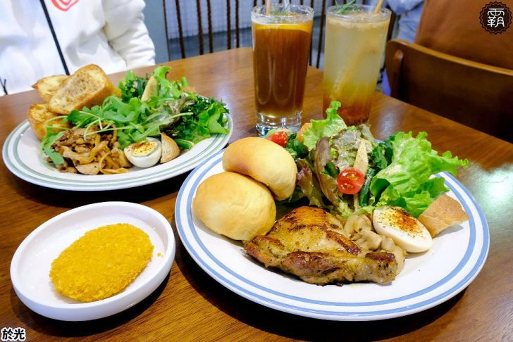 20210119191204 64 - Solar table於光早午餐,野菜盤使用自家栽種生菜,翠綠野菜好豐盛,假日生意超夯阿~