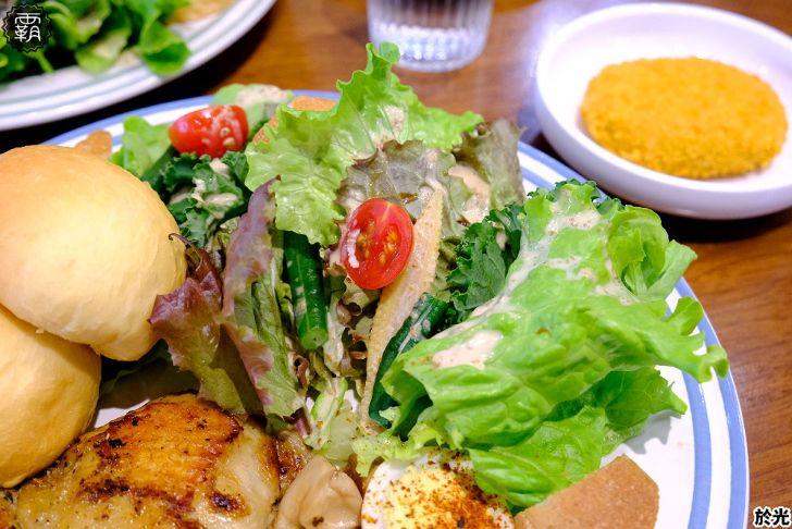 20210119191908 24 - Solar table於光早午餐,野菜盤使用自家栽種生菜,翠綠野菜好豐盛,假日生意超夯阿~