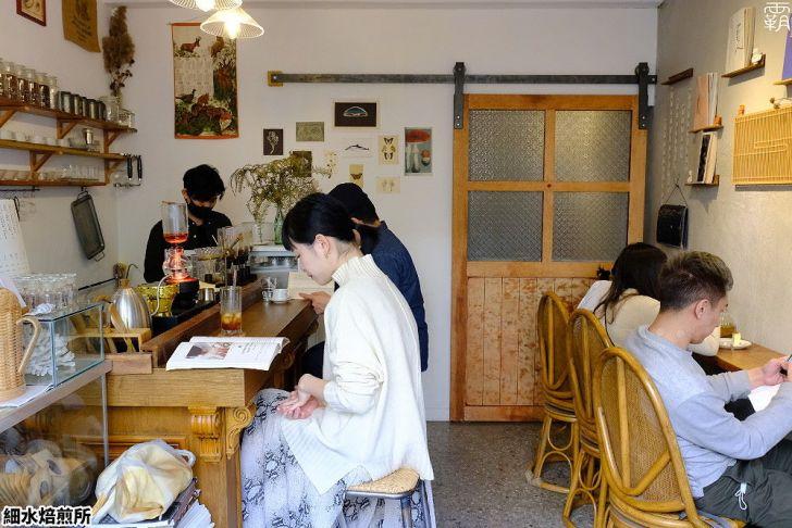 20210131001010 88 - 屋內不到十個人座位的小店,細水焙煎所,咖啡配布丁、烤乳酪純粹的好滋味!