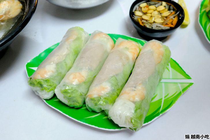 20210303120249 79 - 市場內的人氣美食,娟越南小吃,來碗清爽湯頭的河粉配春捲~