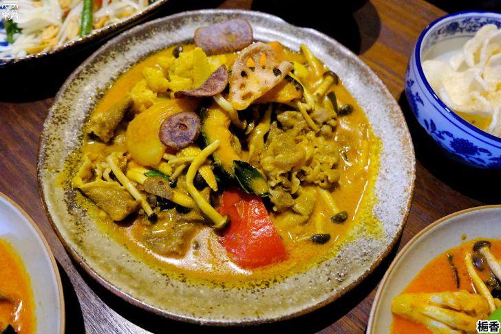 20210319005744 19 - 預約制的泰式餐館,梔香餐館環境美燈光佳,還有好吃的泰式咖哩~
