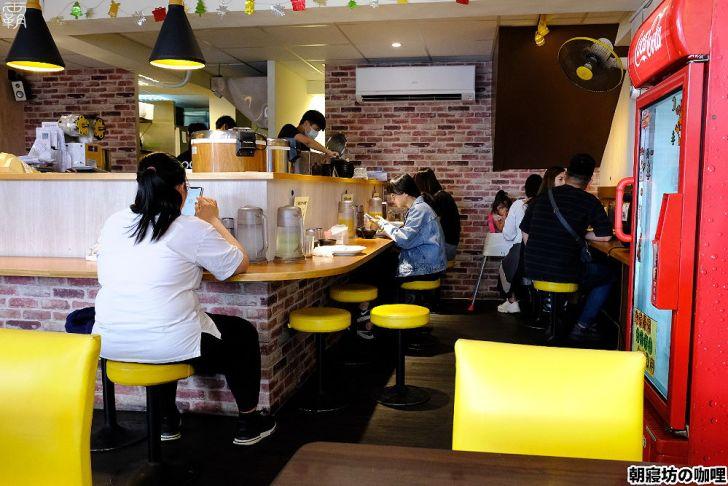 20210415193259 3 - 免費加生蛋黃、肉燥的澎湃咖哩飯,朝寢坊咖哩,店內熱湯泡菜也是免費供應
