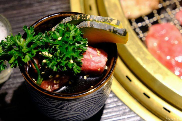 20210929190005 50 - 黑色風格燒肉店,Nikuniku 肉肉燒肉,豪華套餐品嚐極上牛小排、翼板牛小排