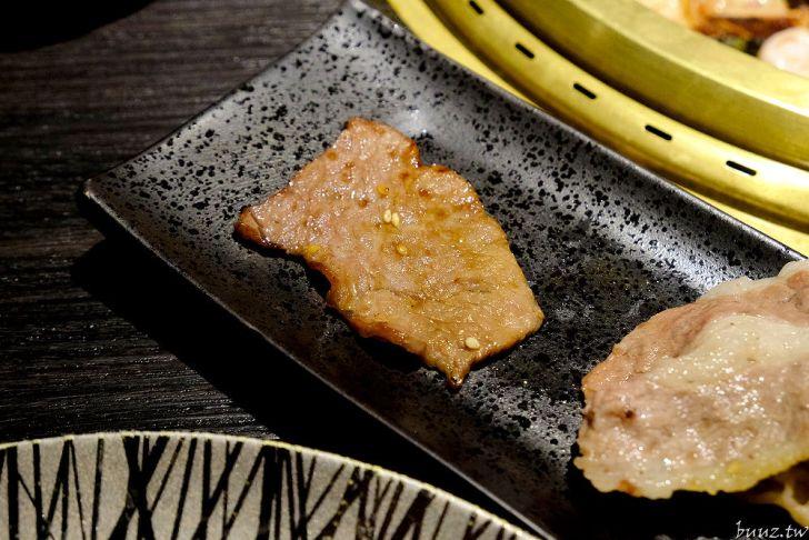 20210929190008 70 - 黑色風格燒肉店,Nikuniku 肉肉燒肉,豪華套餐品嚐極上牛小排、翼板牛小排