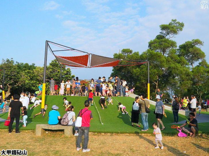 PA040091 01 - 雕塑公園新增溜滑梯、沙坑、爬網等設施,假日時刻家長們溜小孩的好去處~