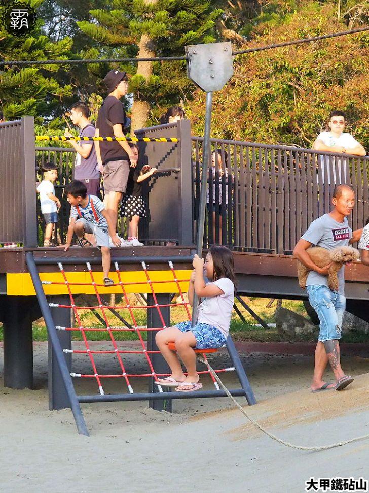 PA040155 01 - 雕塑公園新增溜滑梯、沙坑、爬網等設施,假日時刻家長們溜小孩的好去處~